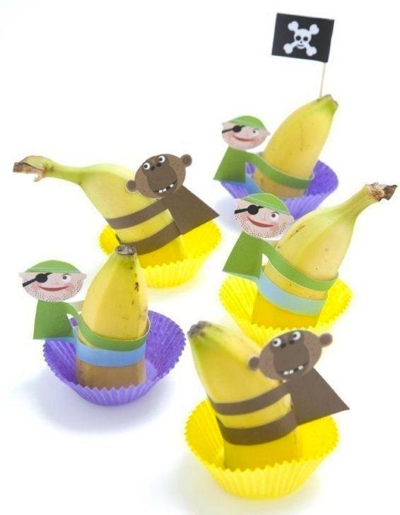 Traktatie banaan piraat