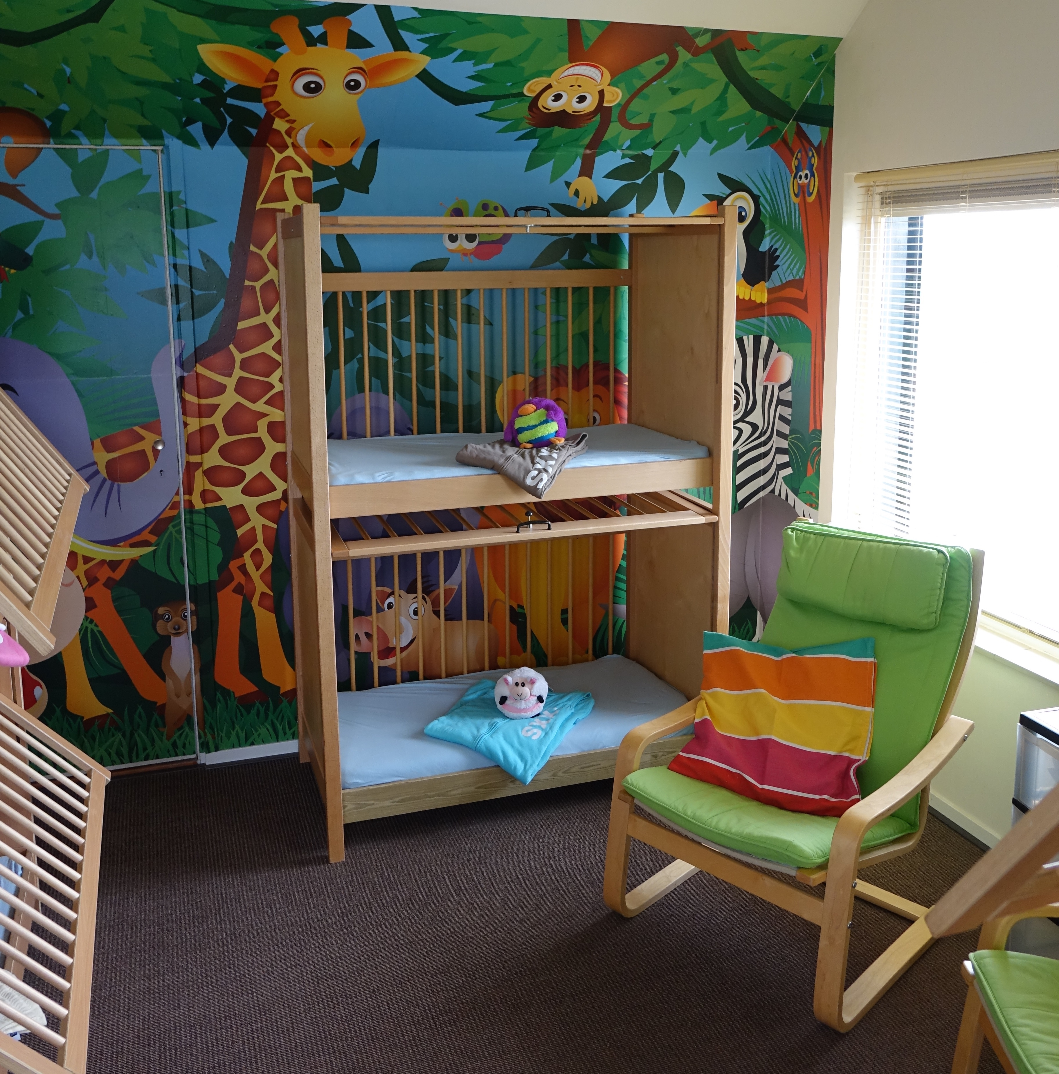 Slaapkamer jungle beste inspiratie voor interieur design en meubels idee n for Deco volwassen kamer design