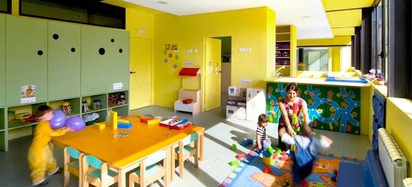 spanje inrichting kinderdagverblijf