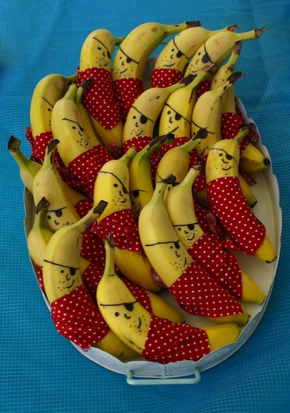Banaan piraten traktatie DIY