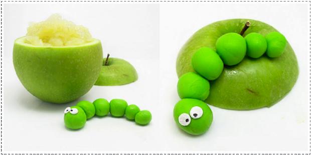 DIY gezonde traktatie met appelmoes