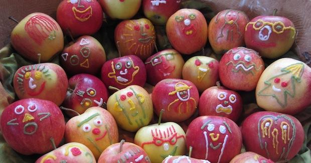 DIY gezonde traktatie met appel