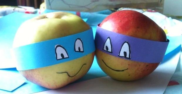 Gezonde trakatie kinderen appel