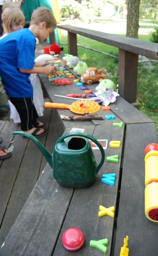 sorteerspelletjes buitenspelletjes kinderen