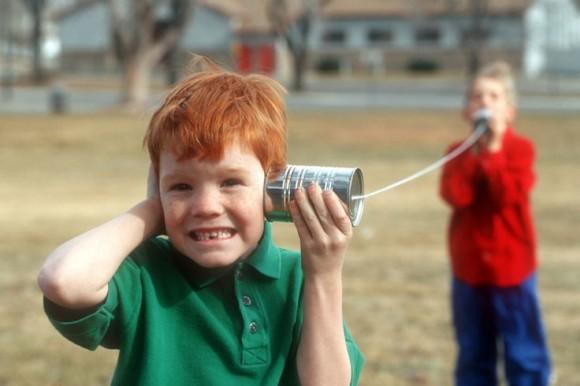 walkie talkie maken van blikken buitenspelletjes kinderen